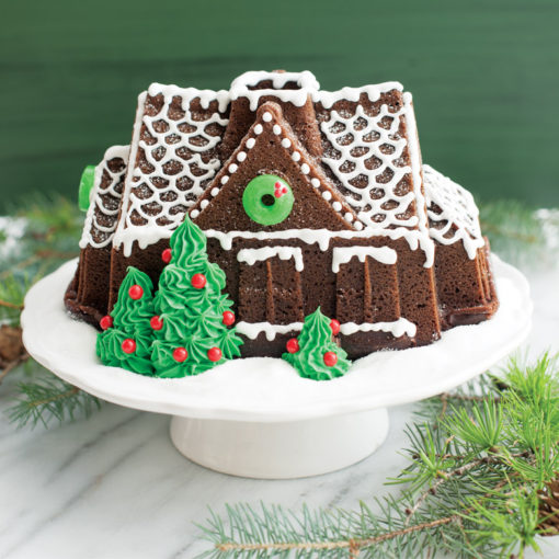 Gingerbread house baked